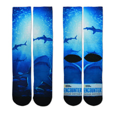 Sublimated Shark Socks