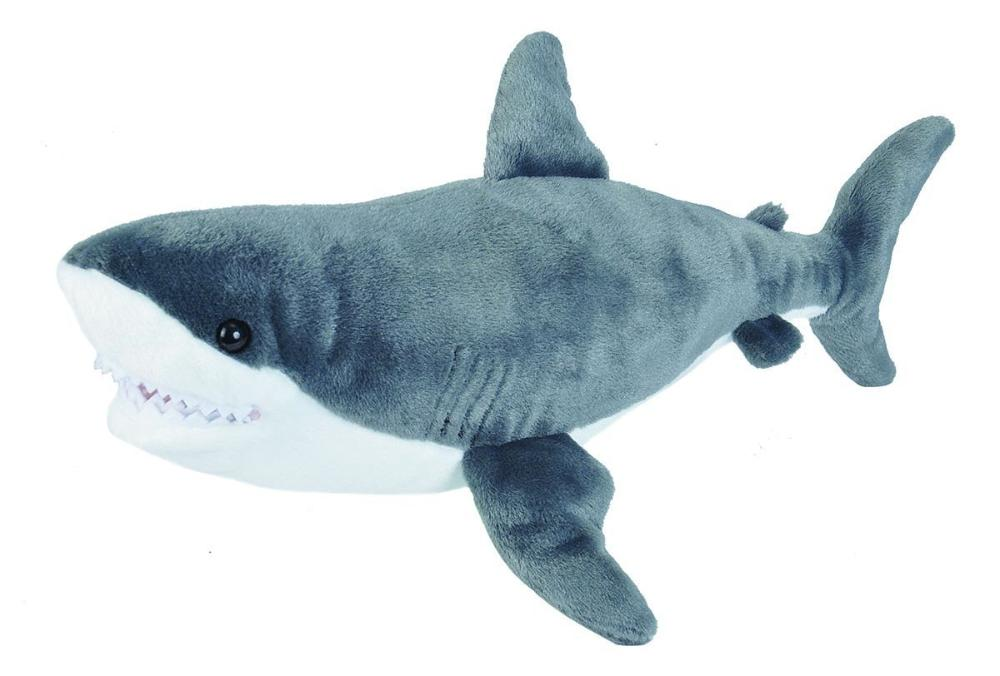 Great White Shark Plush National Geographic Encounter Ocean Odyssey