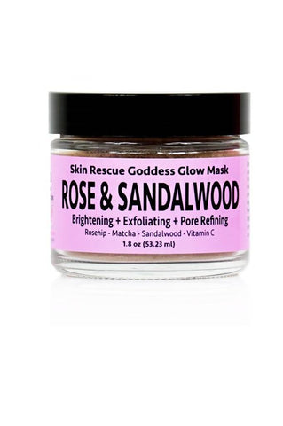 Rose & Sandalwood Goddess Glow Mask - Béni