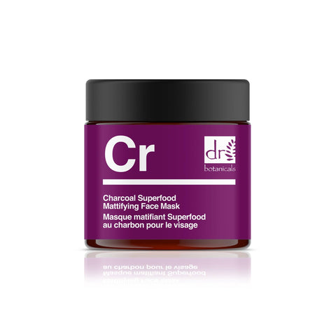 Charcoal Superfood Mattifying Face Mask - Béni