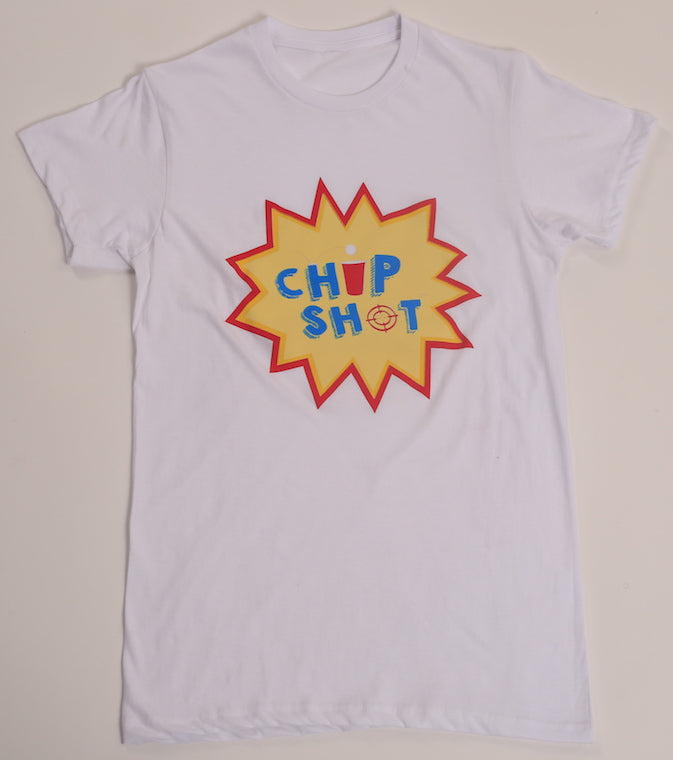 Chip Shot T-Shirt WHT