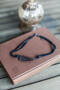 Copper Angel Wing Necklace