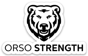 Orso Strength Badge Sticker