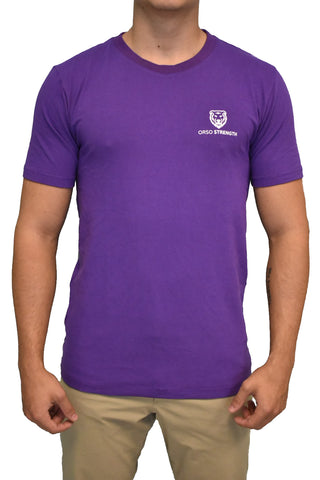 Premium Short Sleeve Badge - Purple