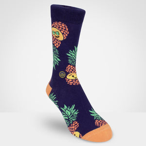 Crew sock - Pineapple
