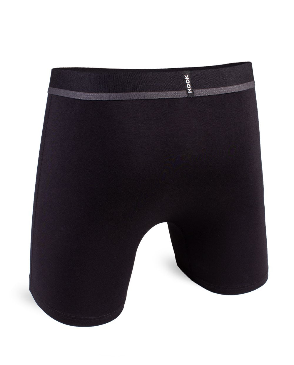 Hook - Feel Solid All Black Boxer Brief