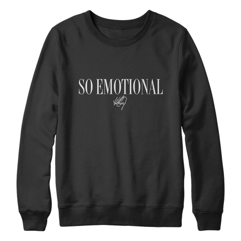 So Emotional Crewneck