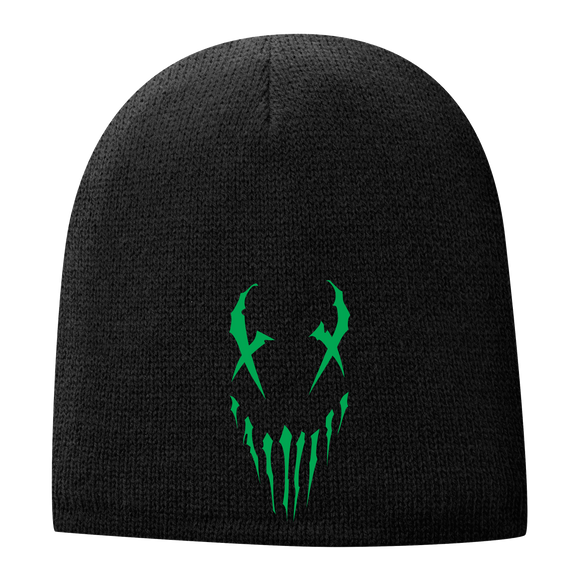 X-Face Beanie | Green Edition
