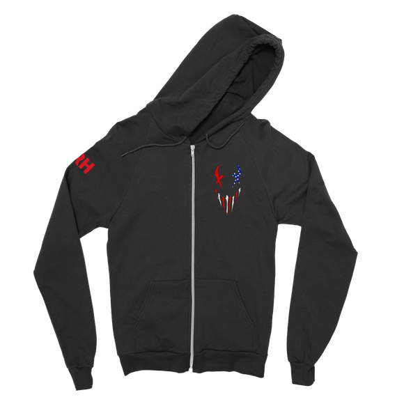 X-Face Zip Hoodie | USA Edition