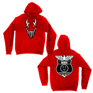 War Machine Hoodie | Red