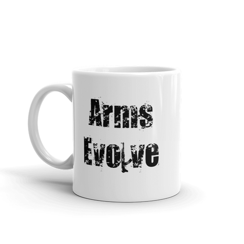 Arms Evolve Coffee Cup
