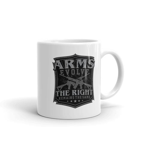 Coffee Cup - Arms Evolve Silver Shield