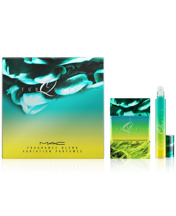MAC TURQUATIC HOLIDAY FRAGRANCE SET 50ml and Rollerball duo
