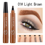Waterproof Long Lasting Four-claw Tattoo Eyebrow Pencil