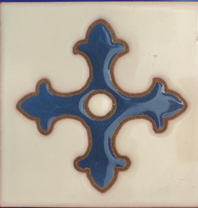 Cross - Custom Deco Tile 4x4