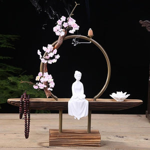 Elegant Creative Backflow Incense Burner - Evie.Shop