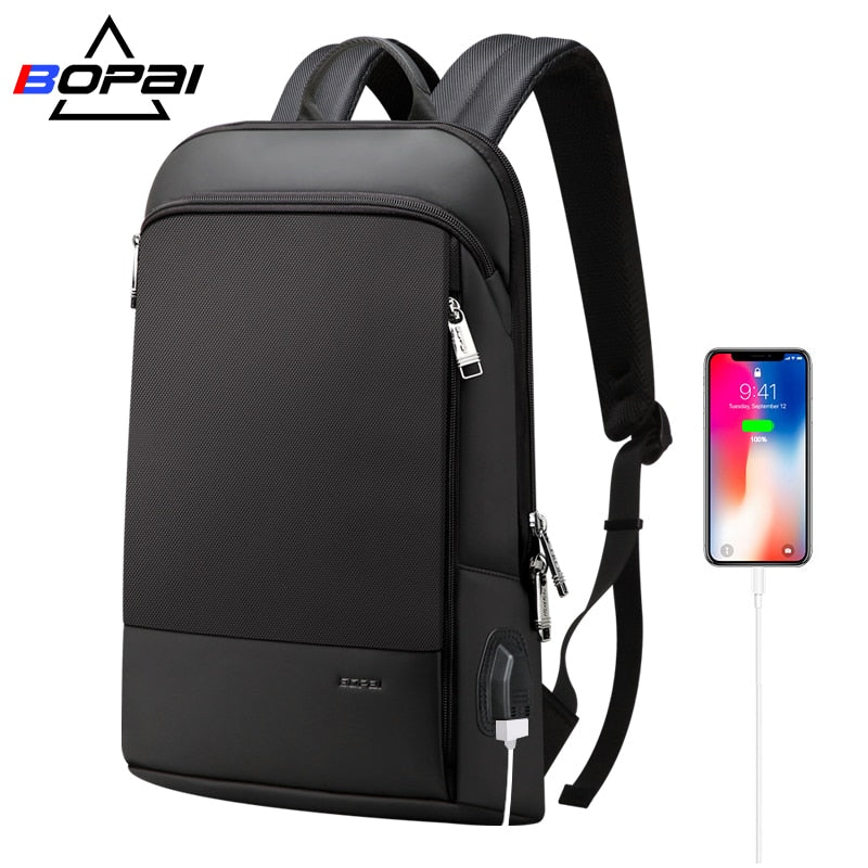 Slim Laptop Backpack Men - Evie.Shop