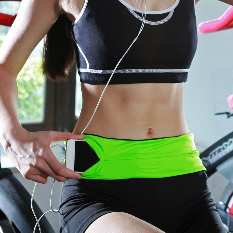 Sport Bag - Invisible Fanny Waist Pack for Mobile Phone - Evie.Shop