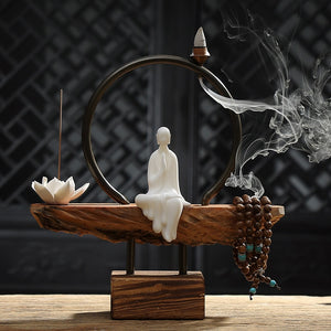 Lotus Stick and Back Flow Incense Burner - Evie.Shop