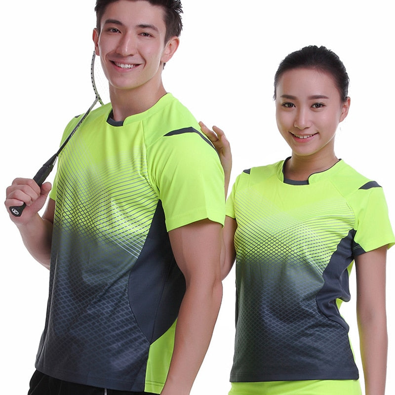 Quick Dry Breathable Short Sleeve T-Shirts (Tennis) - Evie.Shop