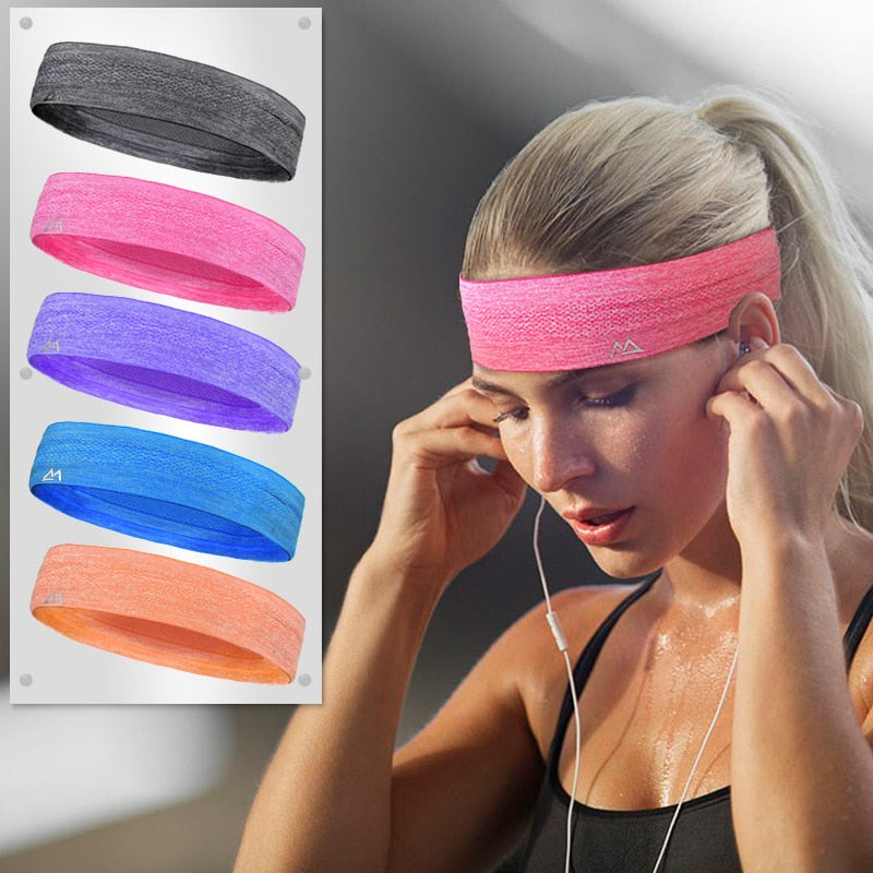 Headband  for Women or Men - Head SweatBand - Evie.Shop