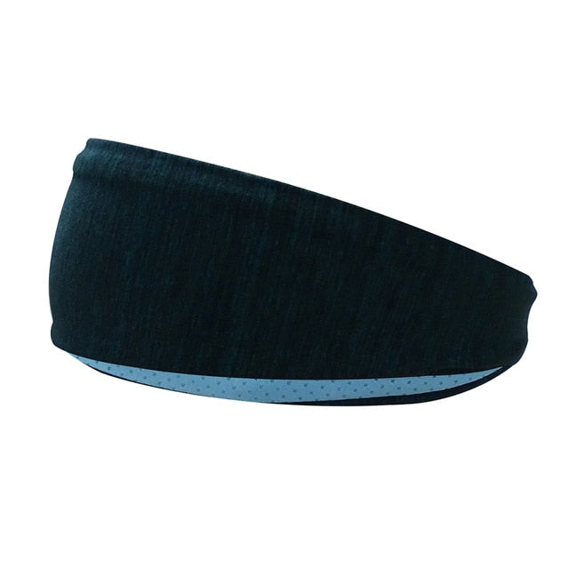 Sport Headband Men Women - Head Sweat Band Tennis with Silicone Anti-slip Elastic Sweatband - Evie.Shop