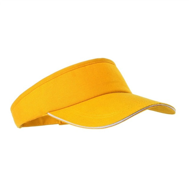 Solid Color Men And Women Sports Tennis Cap - Evie.Shop