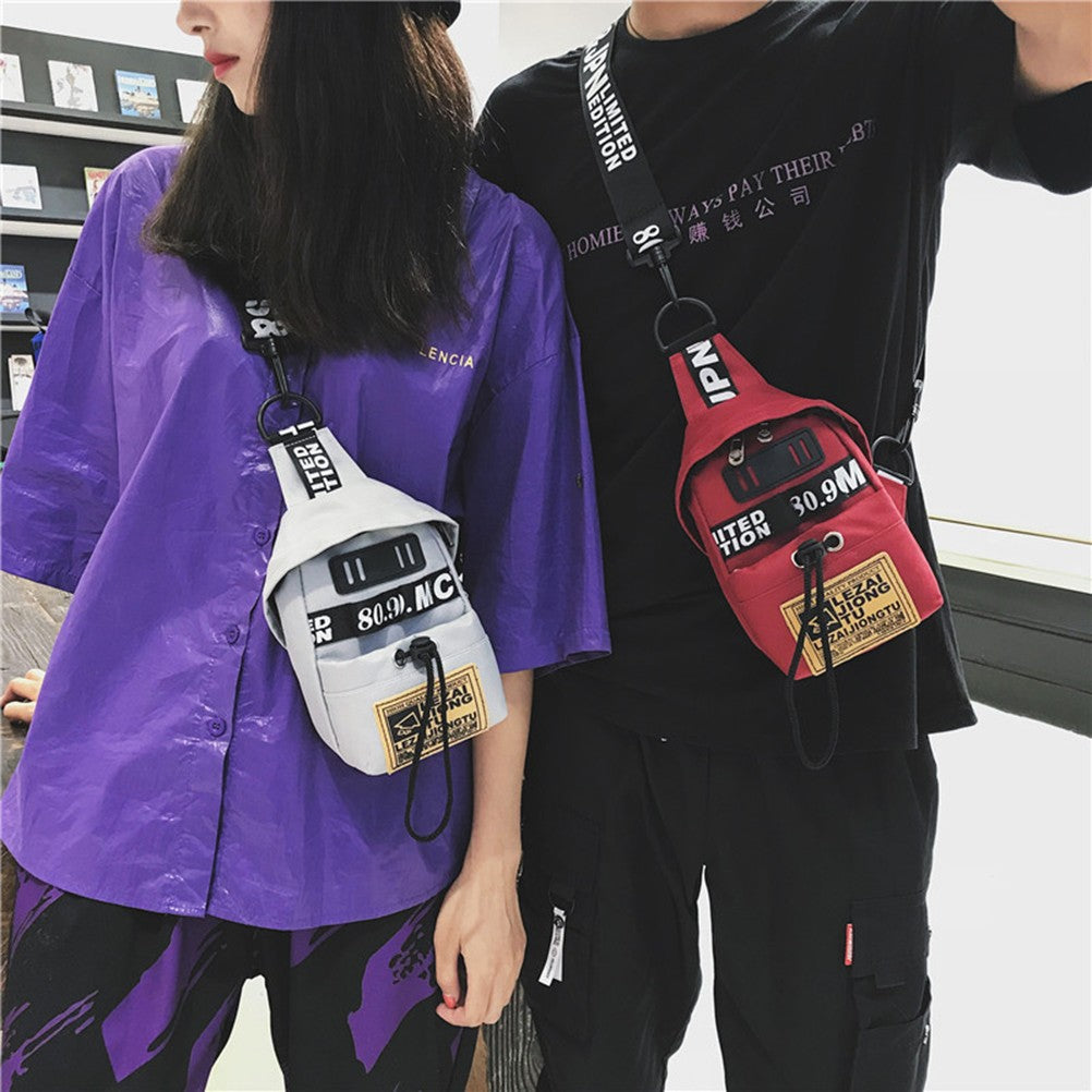 Fashion Messanger/Backpack  Stylish Korean Style - Evie.Shop
