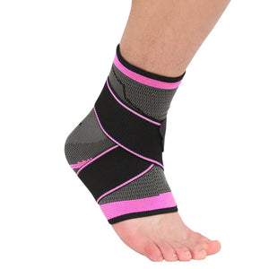 Woven Elastic Nylon Strap Ankle Support - Evie.Shop