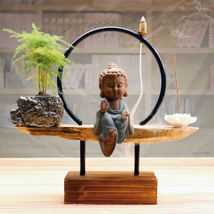 Buddha  Backflow Incense Burner - Evie.Shop