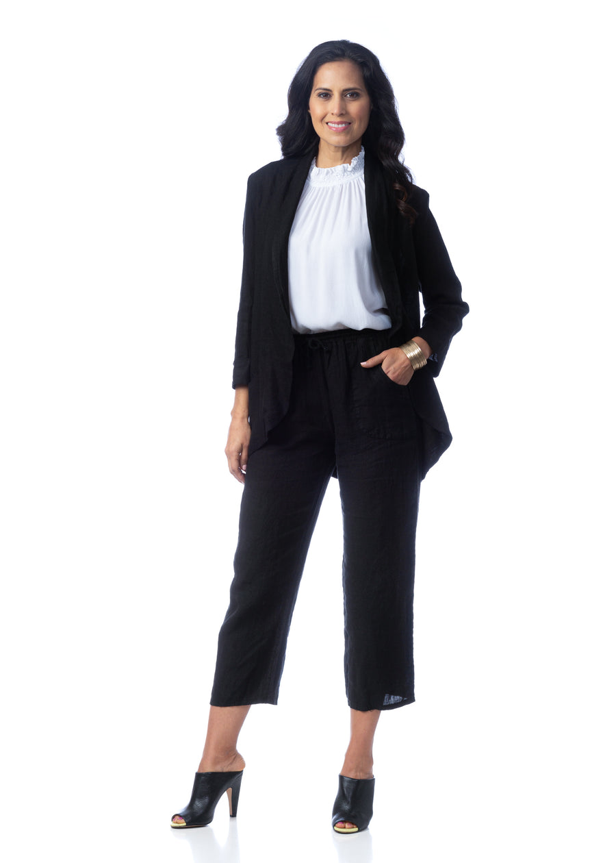Brianna-Shawl-collar Blazer Small/Medium