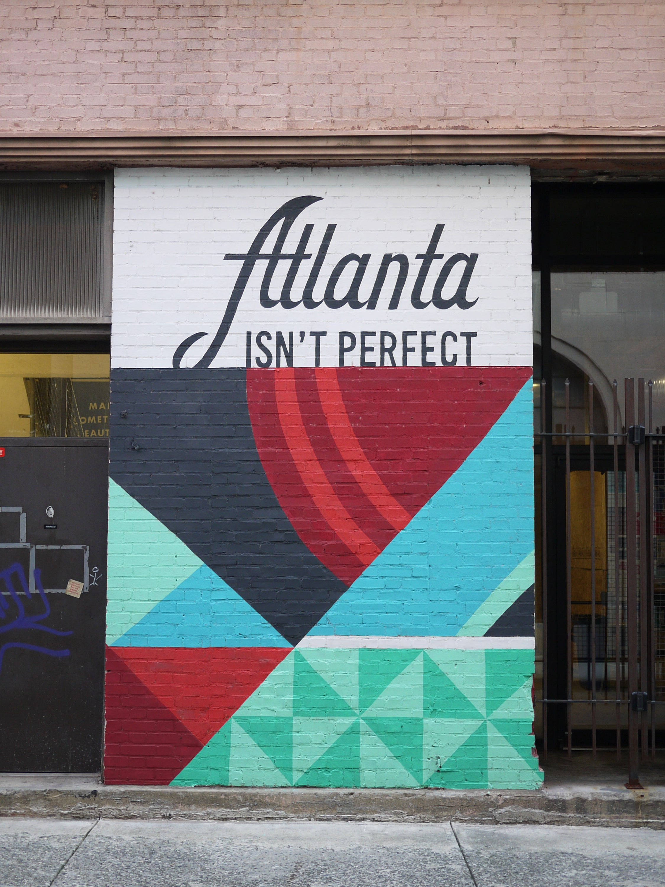 Atlanta Isn't Perfect - Mural