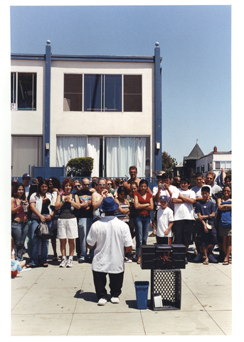 Street Performer, Venice, California - Early 90's