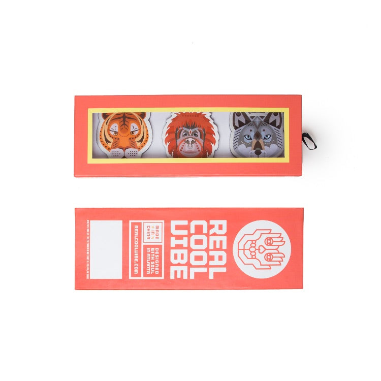 Magnets by Real Cool Vibe - Jungle Animals - Premium Packaging