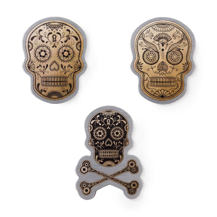 Magnets by Real Cool Vibe - Day of The Dead Skulls (Sugar Skulls)