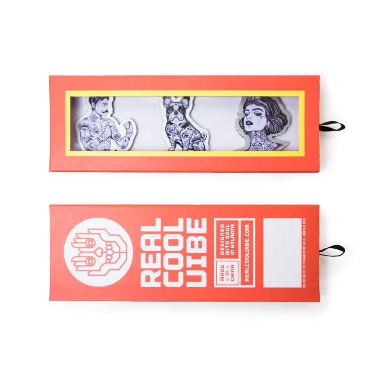 Magnets by Real Cool Vibe - Tattoo Family - Premium Packaging