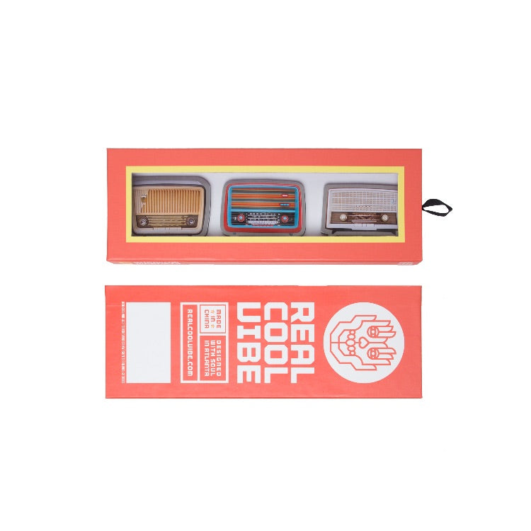 Magnets by Real Cool Vibe - Vintage Radios - Premium Packaging