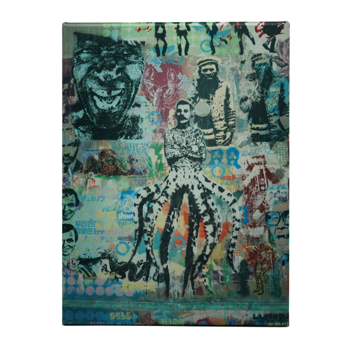 Buenos Aires Street Art No.2 (Photograph Printed On Canvas)