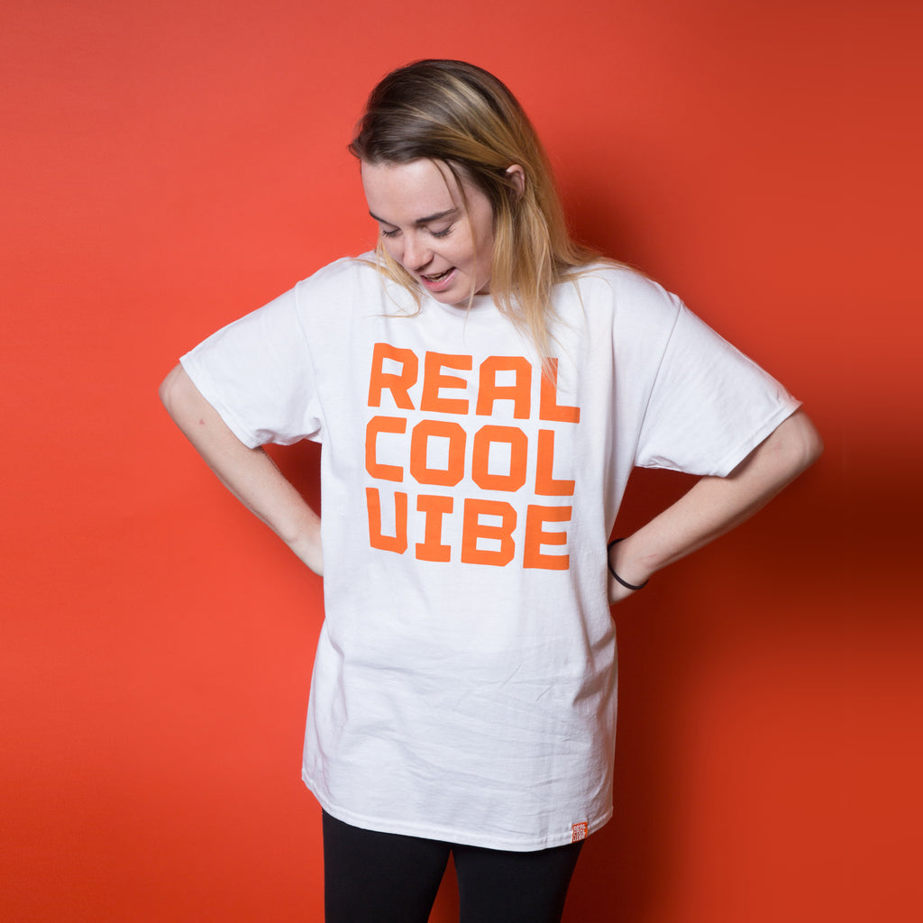 Real Cool Vibe Logo T-Shirt