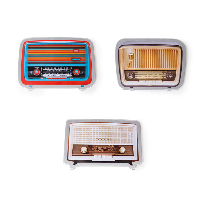 Magnets by Real Cool Vibe - Vintage Radios