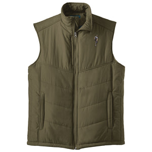 Broken 3 Wood Puffy Vest
