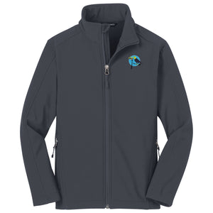 4633b864e Birdies & Eagles Soft Shell Youth Jacket