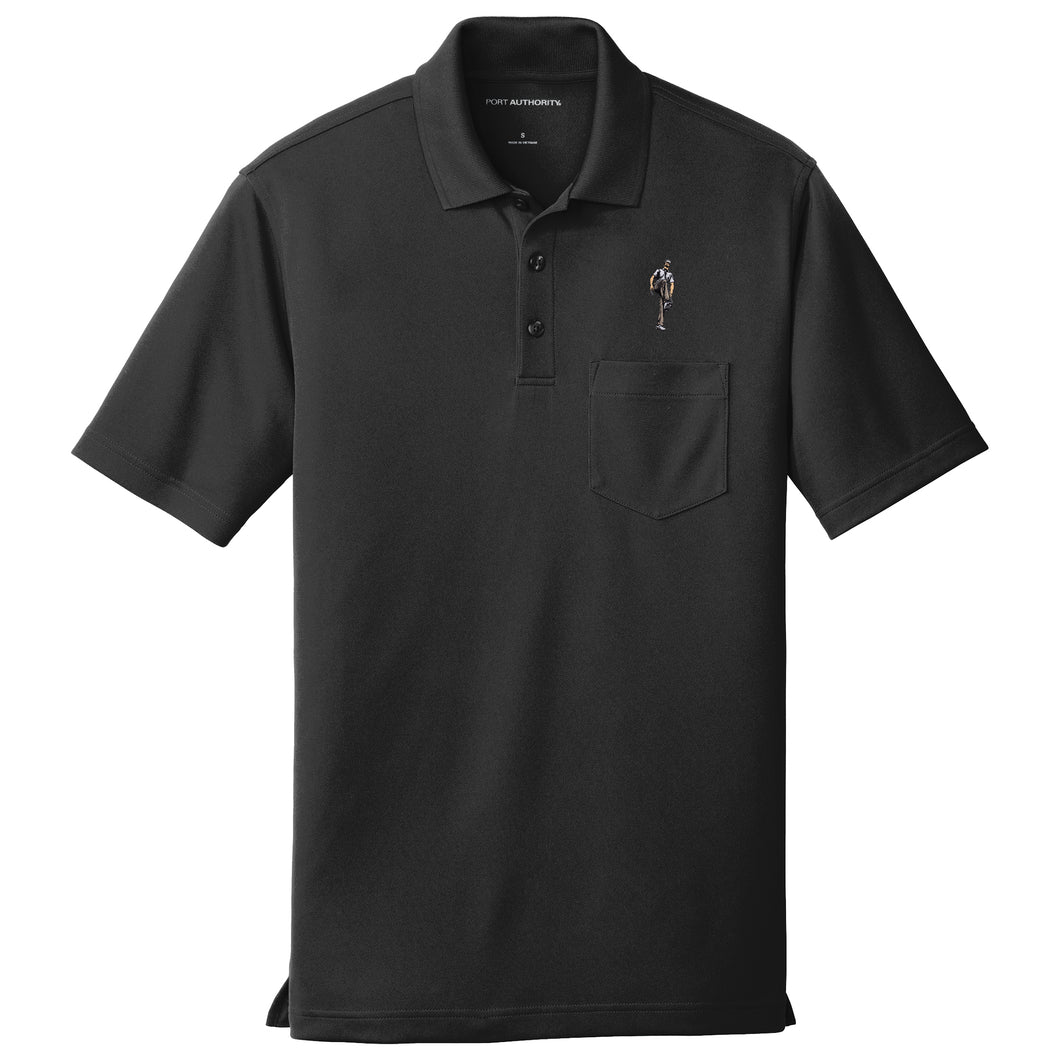 Broken 3 Wood Dry Zone Pocket Polo