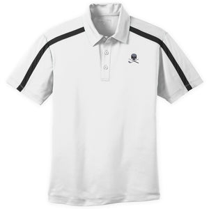 Skull & Broken 3 Wood Silk Touch Polo