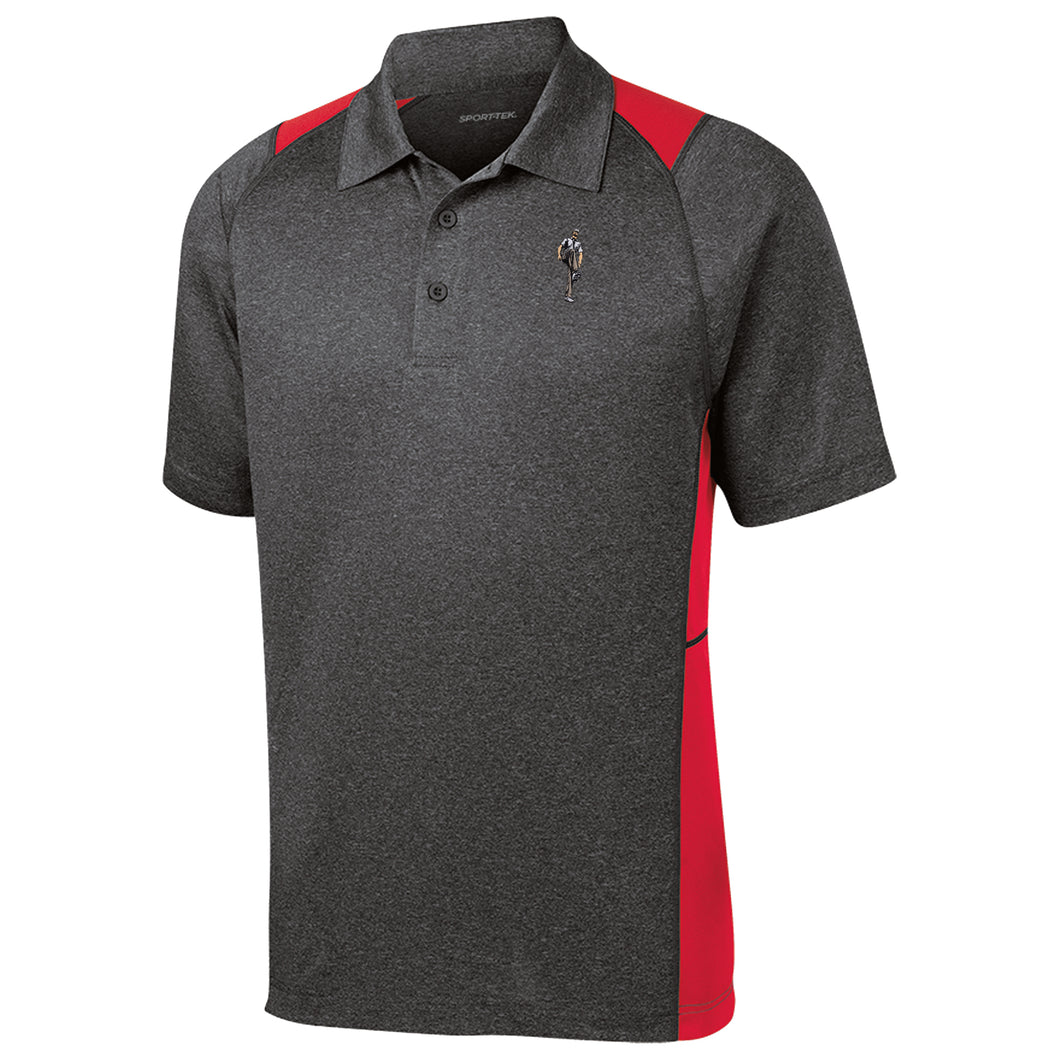 Broken 3 Wood Heather Contender Polo