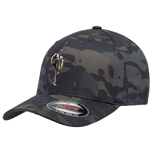Broken 3 Wood Flex Fit Multicam Hat