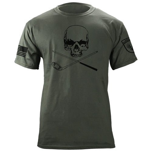 Skull and Broken 3 Wood T-shirt