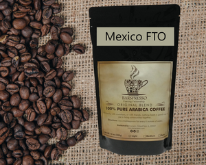 Mexico (Fair Trade, Organic) - Barspresso Premium Original Blend Coffee (12oz)