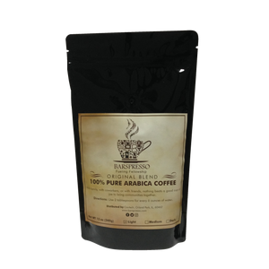 Dark Roast - Barspresso Premium Original Blend Coffee (12oz)