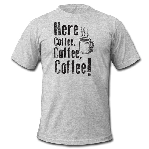 Here Coffee Coffee Coffee Men's Premium T-Shirt